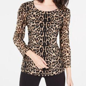NMT Leopard - Print  Knit Top